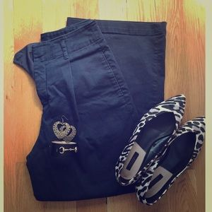 Uniqlo Navy wide pants